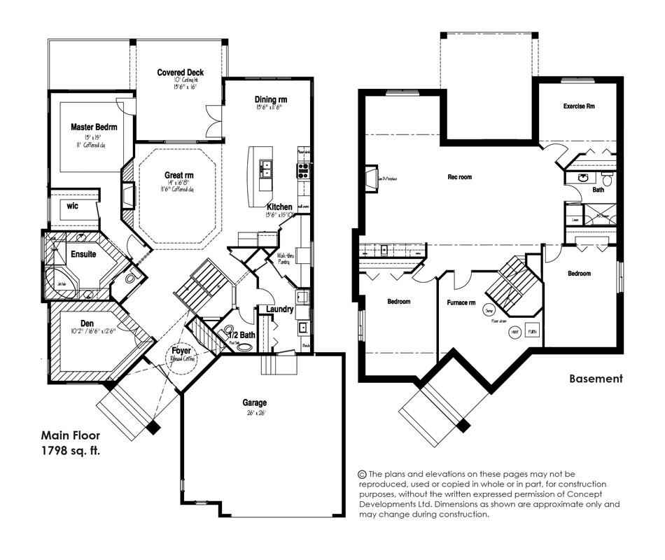 The Augusta Floor Plan