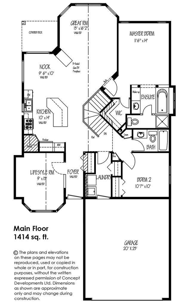 The Bradford Floor Plan