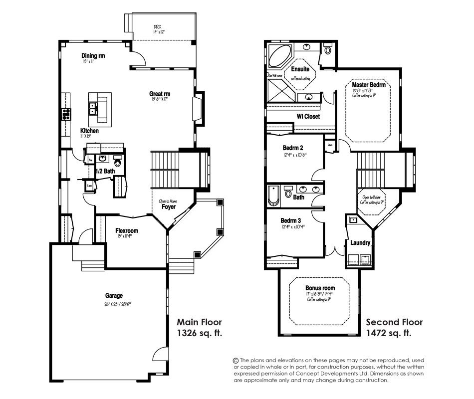The Hudson Floor Plan
