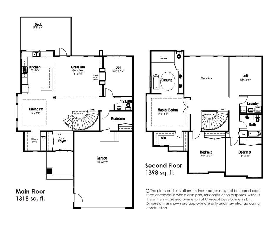 The Rochester Floor Plan