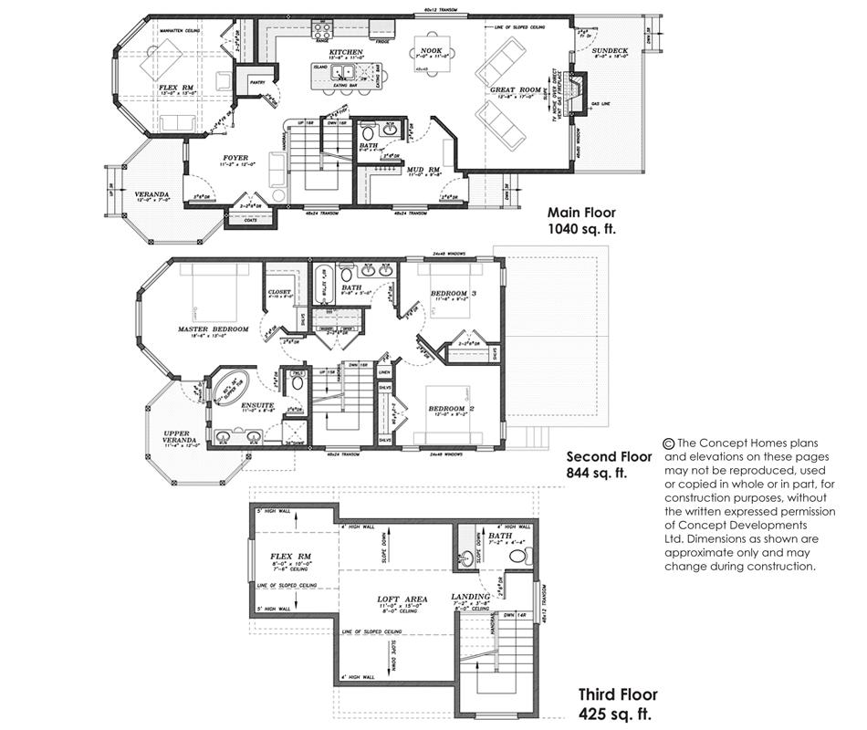 The Victorian Floor Plan