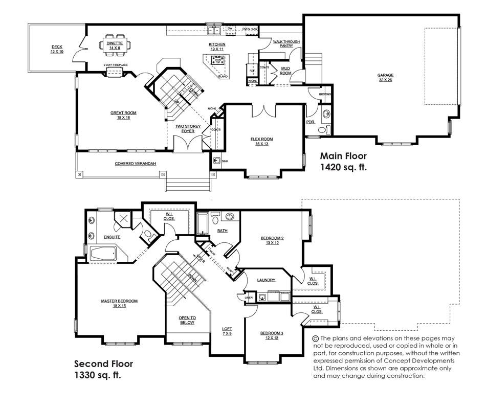 The Wyndham Floor Plan