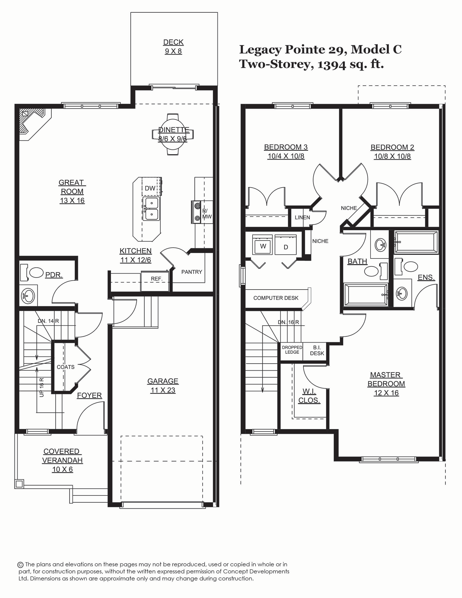 Legacy Pointe 29, 1394 sq. ft.