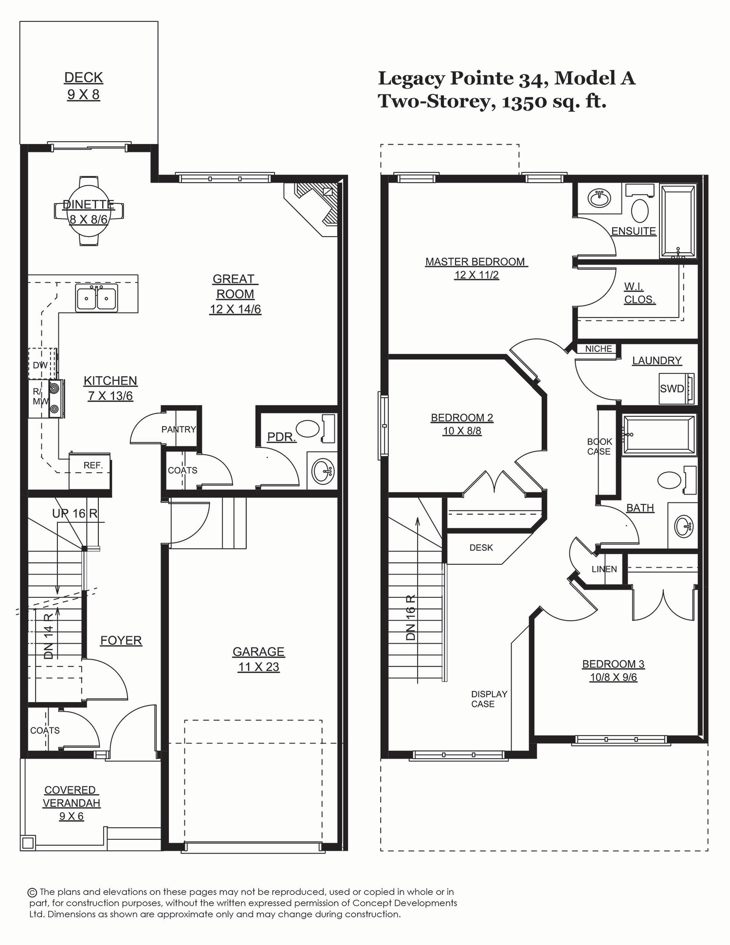 Legacy Pointe 34, 1394 sq. ft.
