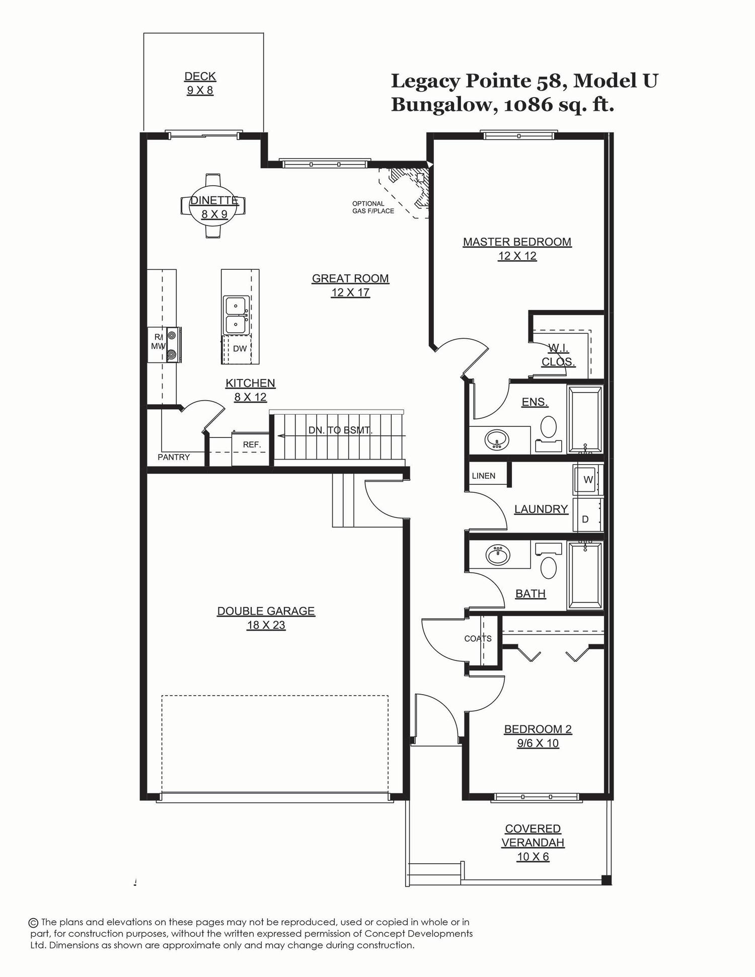 Legacy Pointe 58, 1394 sq. ft.