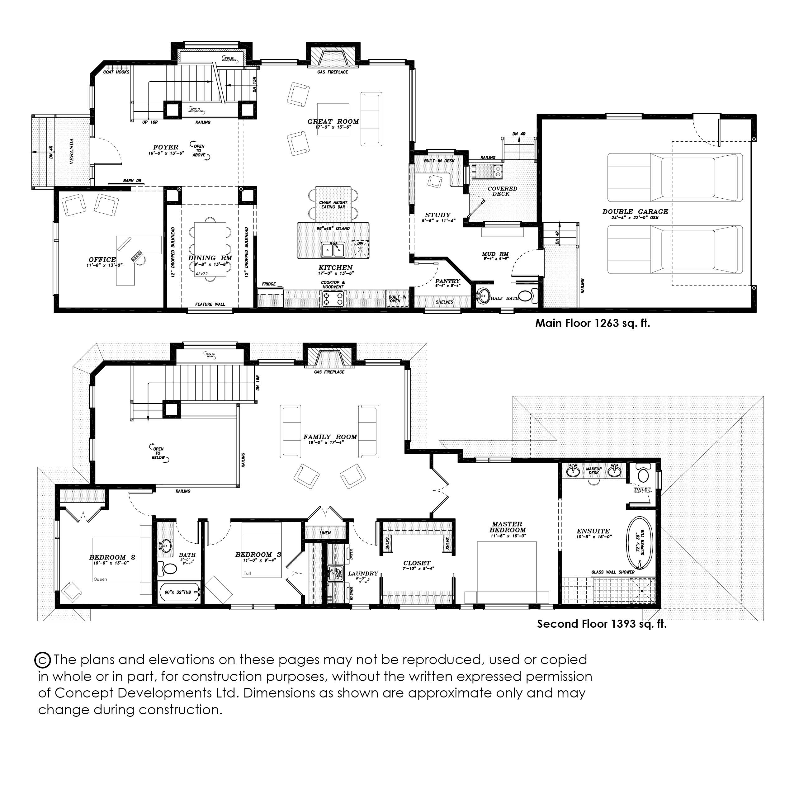 The Wyndham Floor Plan