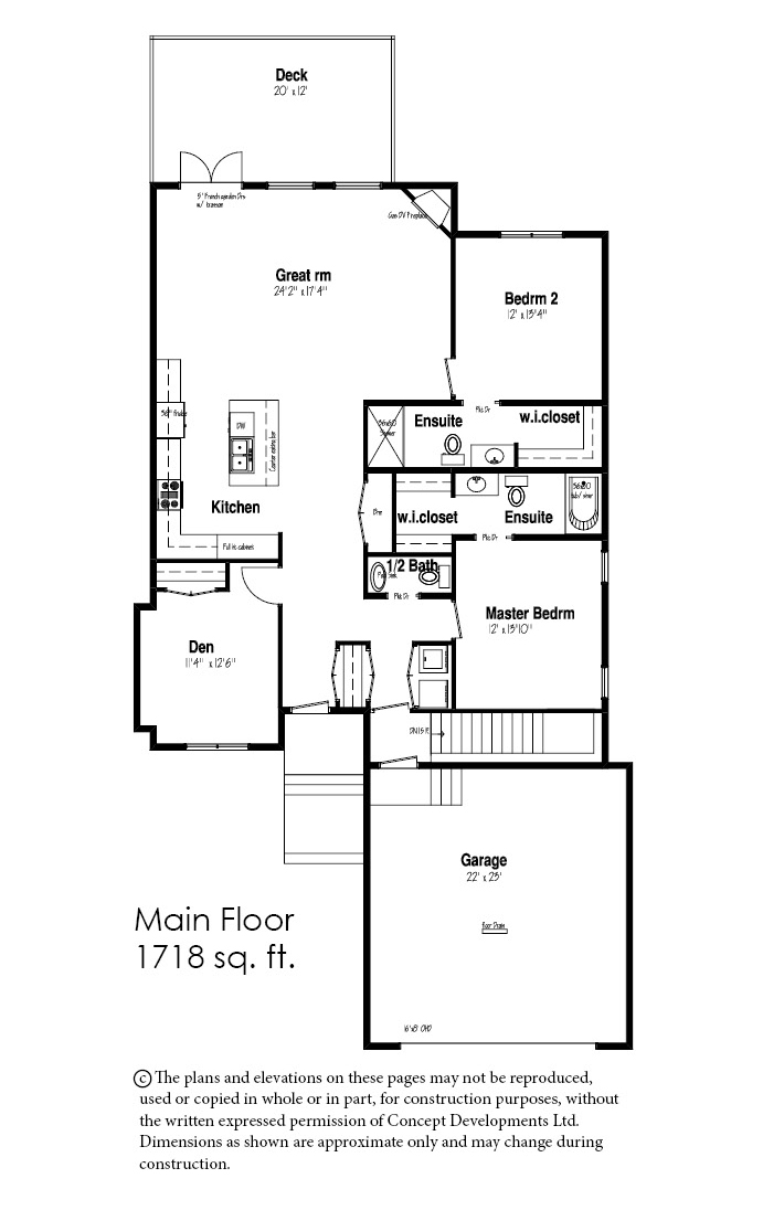 The Diamond Floor Plan