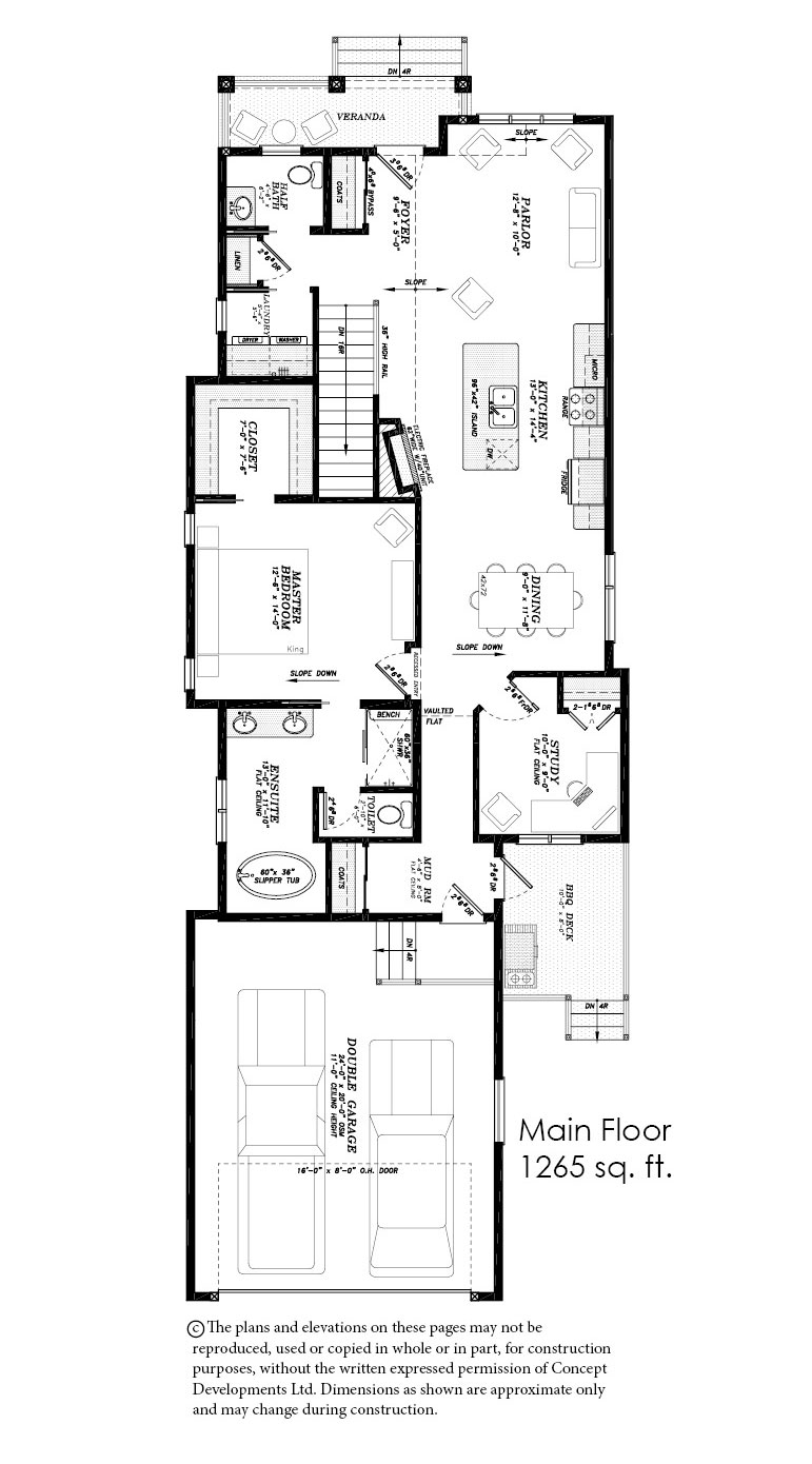 The Sapphire Floor Plan