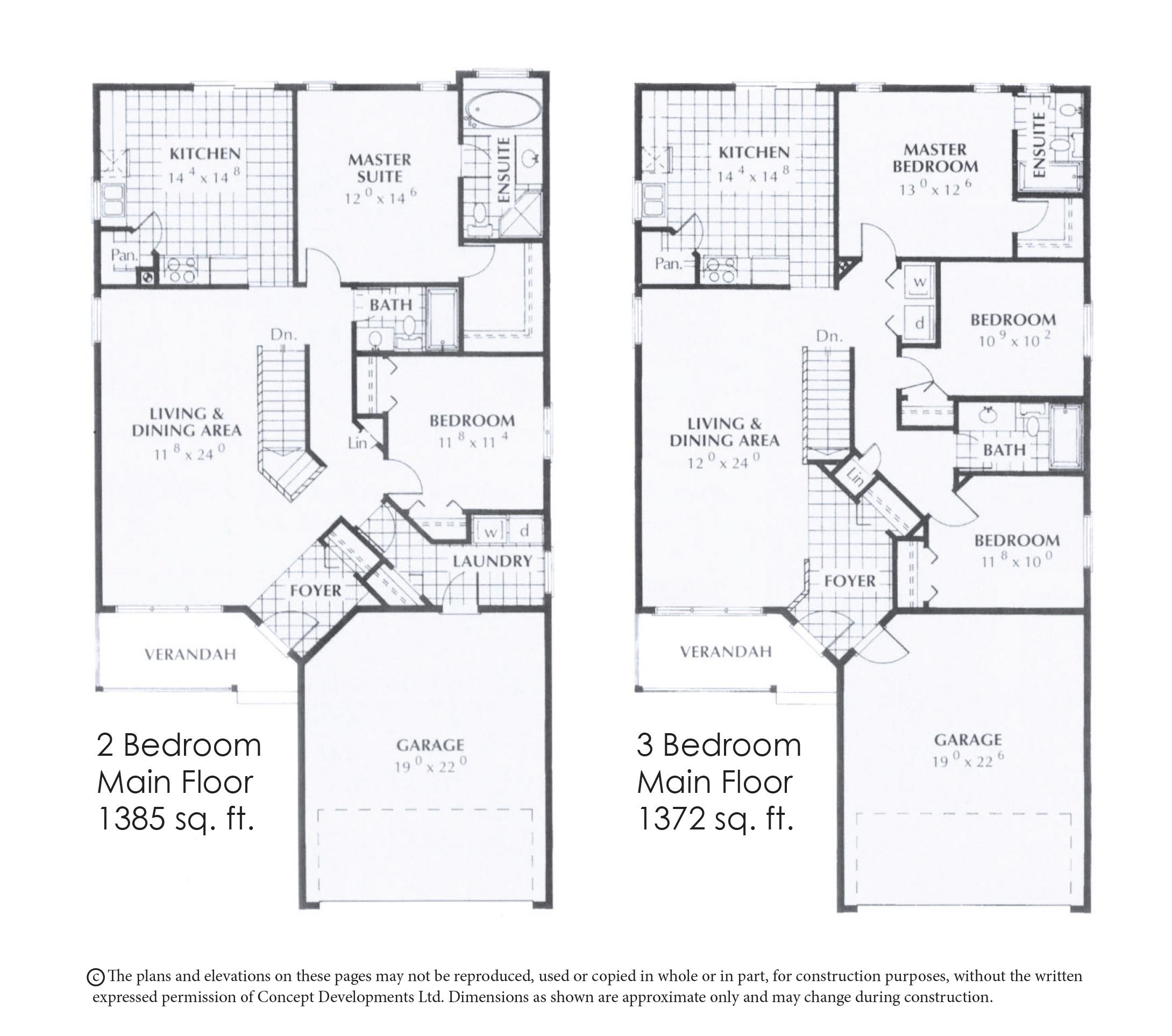 The Granville Floor Plan