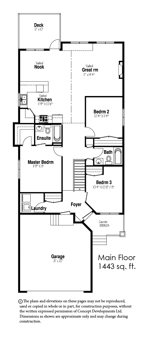 The Kingston Floor Plan
