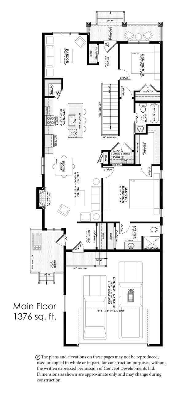 The Sapphire II Floor Plan