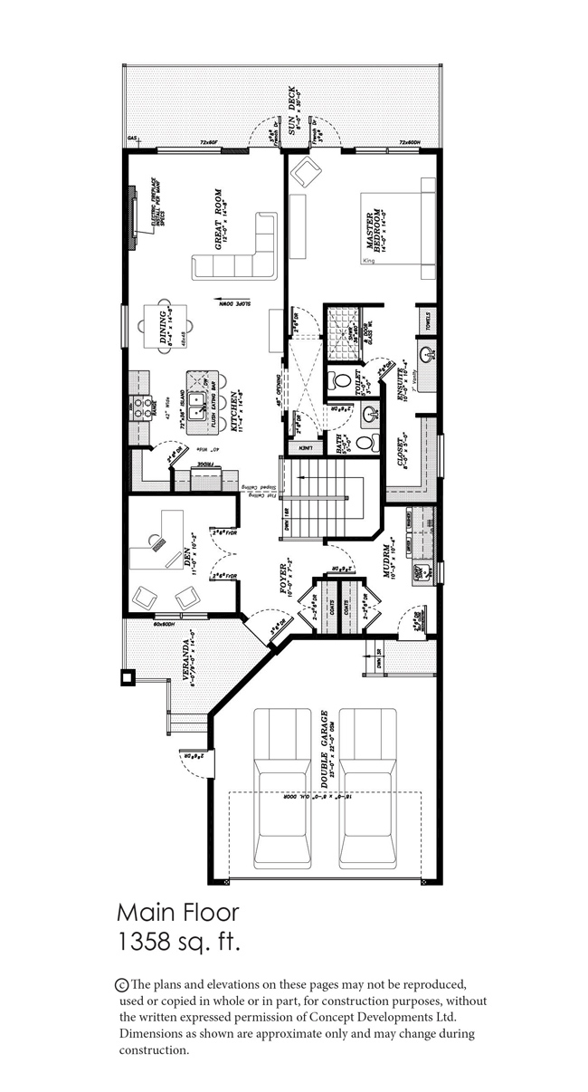 The Topaz Floor Plan